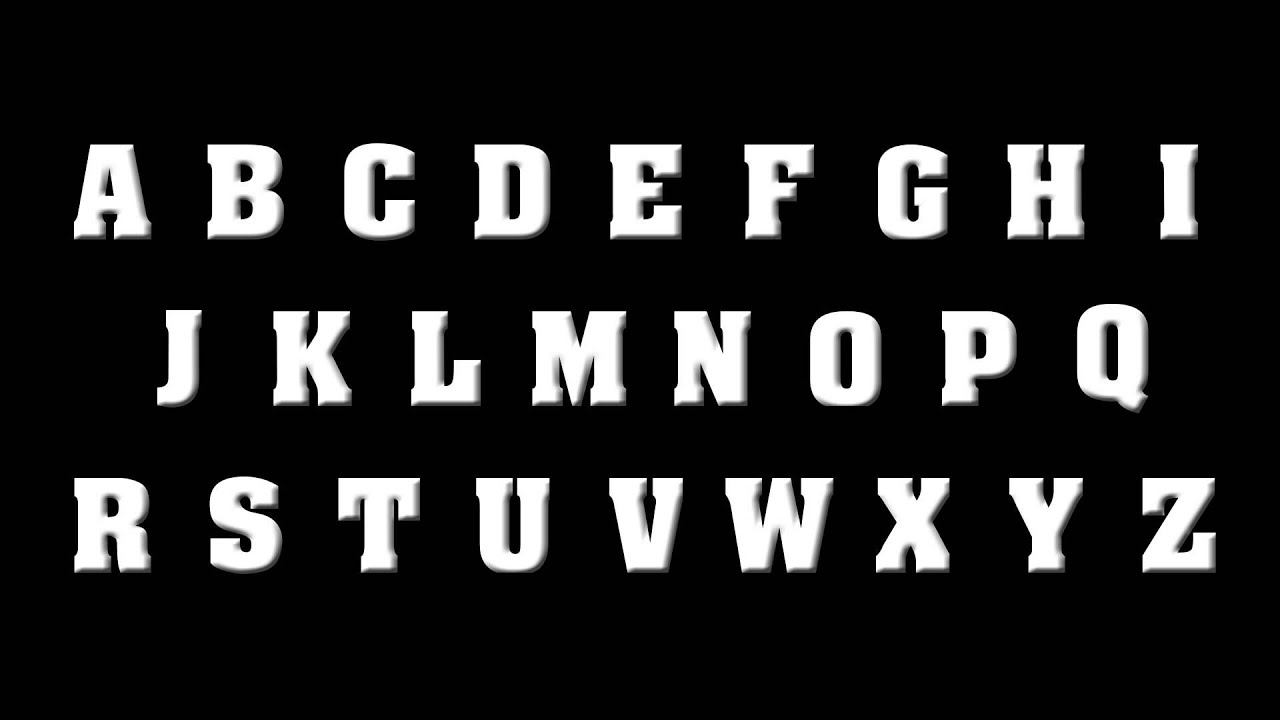 The punk rock alphabet abcdefghijklmnopqrstuvwxyz youtube sciox Gallery