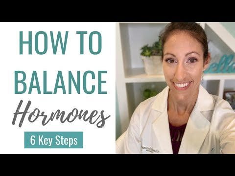 How To Balance Your Hormones For Women | 6 Natural Remedies For Hormone Imbalance