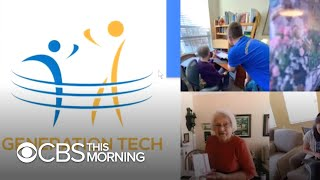 How a volunteer group is using the latest tech to help senior citizens overcome loneliness