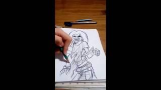 Eddie The Head (Killers—Iron Maiden) —Speed Drawing