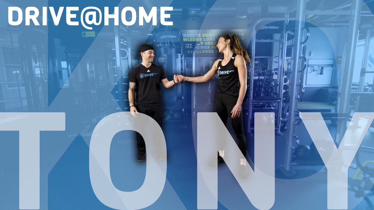 HIIT Training at HOME! Burn calories with Tony! - YouTube