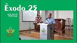 Exposição bíblica em Êxodo 25 - EBD 16/02/2020