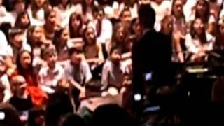 El Tucu en recital de Navidad en Graded (Sao Paulo) Parte Final