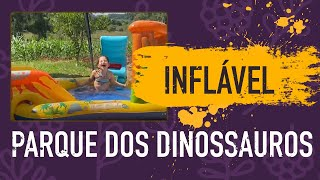 Carnaval 2020 com Inflável Parque Dos Dinossauros - Intex 57444