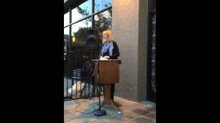 Poetry Reading Redlands, California November 2015