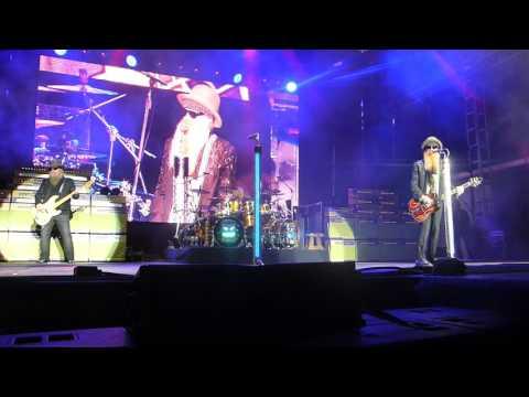 ZZ Top - Foxy Lady [The Jimi Hendrix Experience cover] (Houston 02.04.17) HD