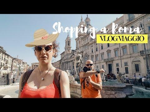 ROMA SHOPPING: meglio Milano? Acquisti con il Giammy \\ ROMA VLOG