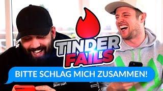 ALS TOILETTE BENUTZT & ZUSAMMENGESCHLAGEN | Tinder Fails