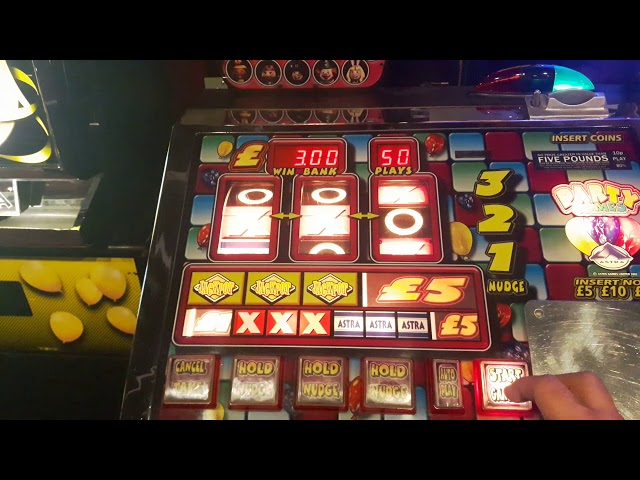 Astra party games in Roxy amusements