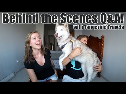 #116. Q&A With Tangerine Travels (A Mexico Travel Vlog Behind the Scenes)