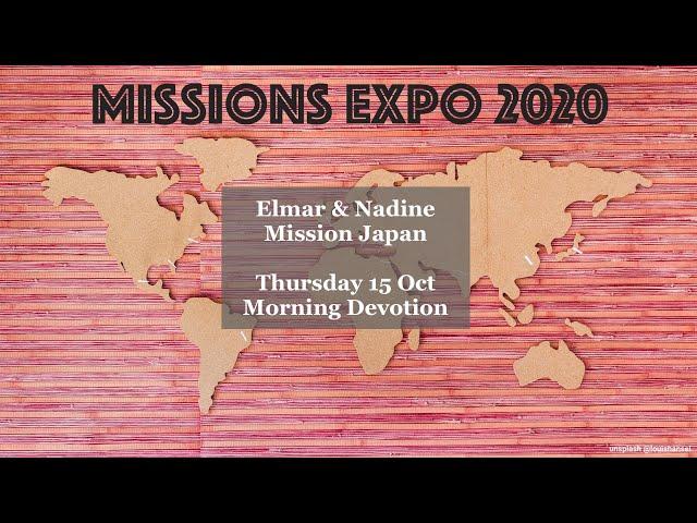 Elmar and Nadine du Rand - Mission Japan