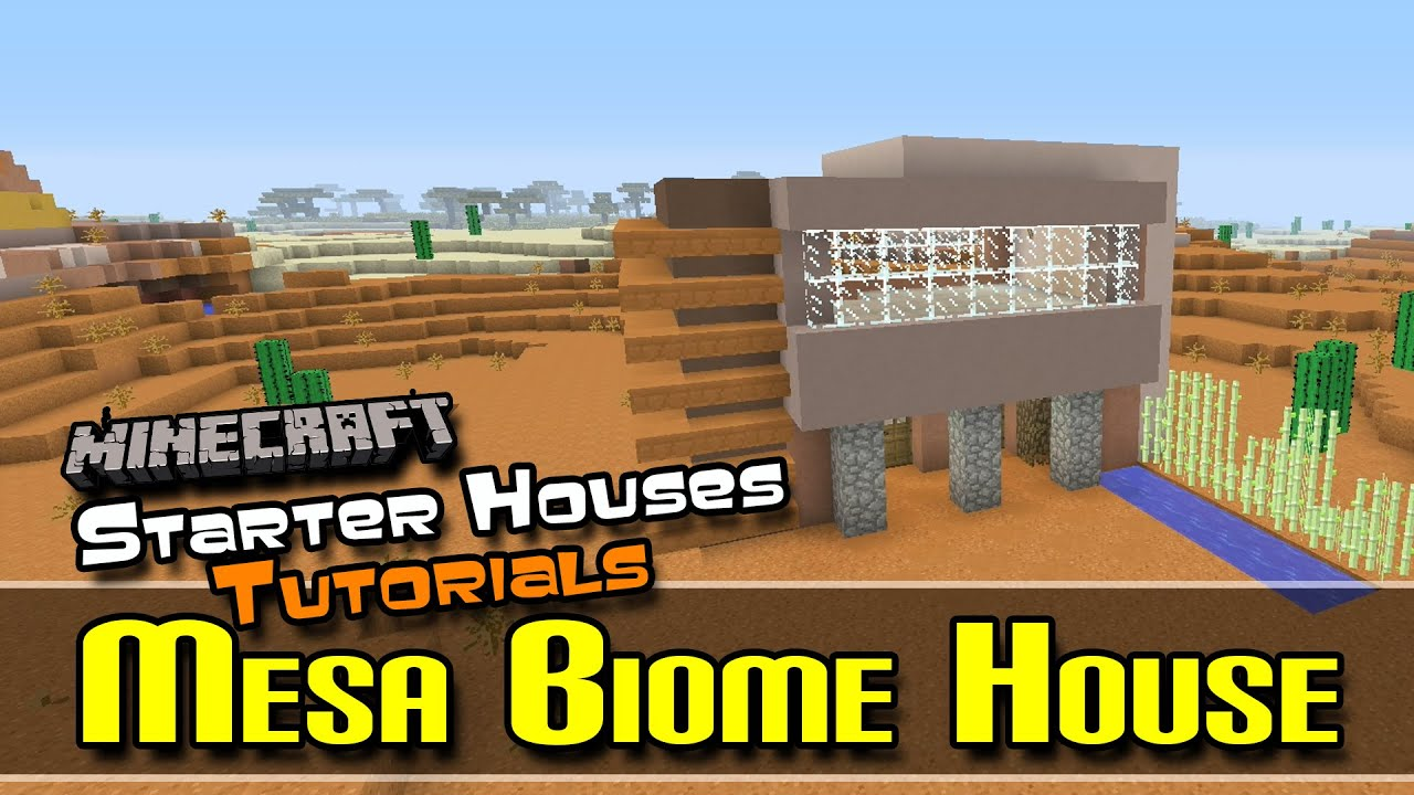 Starter Houses Tutorials :: FIXED Mesa Biome House :: Minecraft :: Z One N  Only