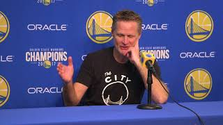 Steve Kerr tells story of wanting to draft Curry in Phoenix
