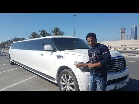 Dubai Limousine Tour | Hotel Tour With Swimming Pool & GYM