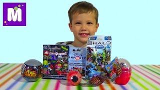 Поли Робокар Star Wars Лего мини фигурки сюрпризы с игрушками распаковка surprise unboxing(, 2015-09-29T17:52:09.000Z)