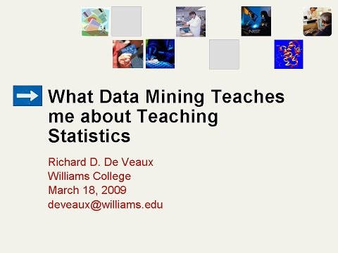 What Data Mining Teaches me about Teaching Statistics