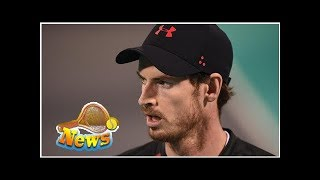 Andy murray withdraws from brisbane with hip injury