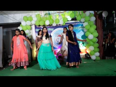 Remix dance performance by RC Reddy Women's Degree College Students