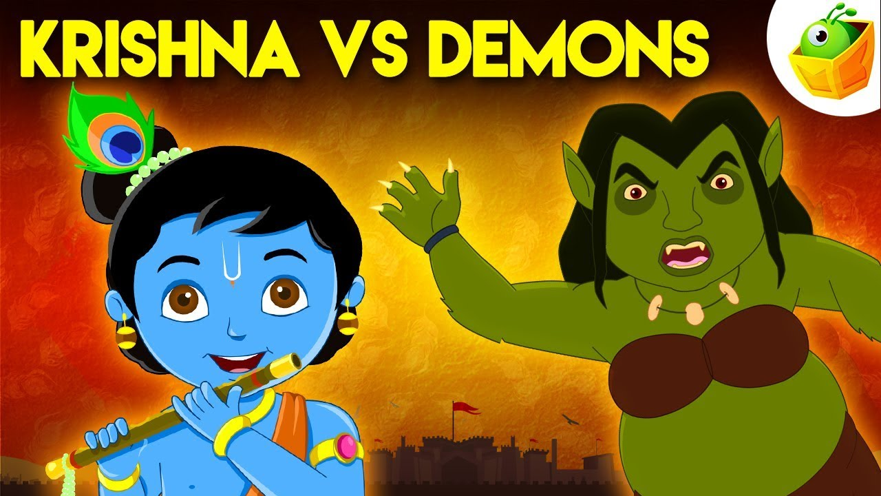 Download Krishna vs Demons | Full Movie (HD) | Great Epics of India | Watch this most popular animated story
