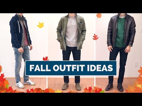 8 Fall Outfit Ideas for Men | Casual Fall Lookbook