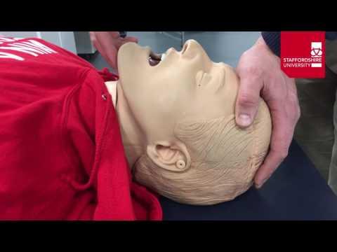 Basic Airway Manoeuvres - Head Tilt Chin Lift