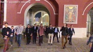 Самый веселый заход на Красную площадь в истории: Евгений Понасенков и его аудитория