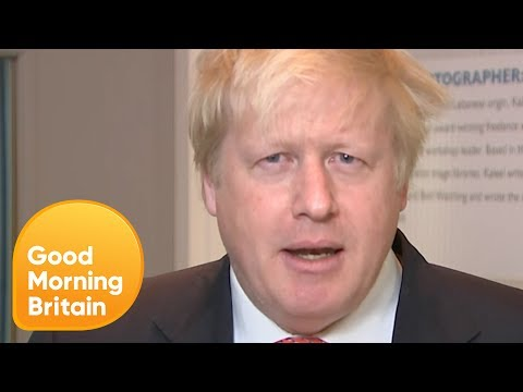 Boris Johnson Defends Karen Bradley and Police Cuts | Good Morning Britain