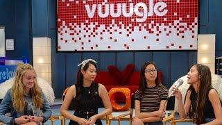 ON SET Interview with Bizaardvark's Madison Hu, Olivia Rodrigo, & DeVore Ledridge