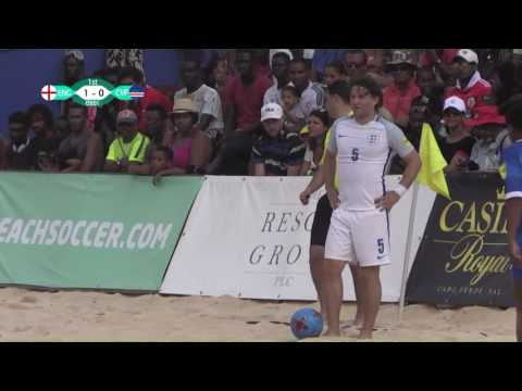 Sal Beach Soccer Cup 2017 England  Cape Verde
