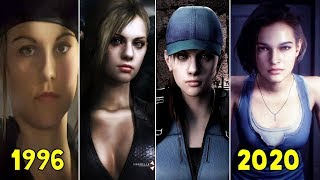 Jill Valentine in Resident Evil Games 1996-2020 (Resident Evil 3 Remake 2020)