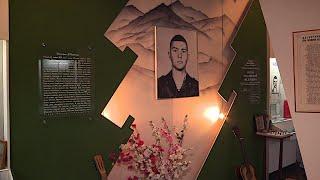 В школе имени Героя России Дмитрия Миронова открыли обновлённый музей Боевой славы
