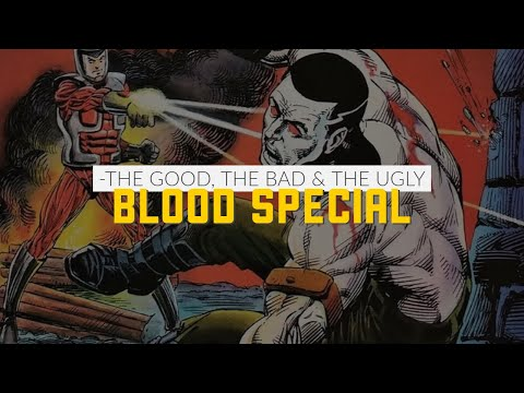 Bloodshot, Bloodaxe (Thor) and Bloodsport (Superman)