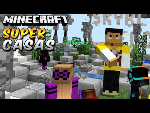 Minecraft: CASAS SUPER GUAPAS !! - Construyendo con Suscriptores #2