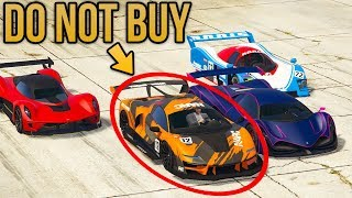 GTA Online NEW BEST SUPER CAR - Why You Should NOT Buy It (Progen Emerus)