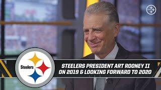 Steelers President Art Rooney II on 2019, improving for 2020, Bud Dupree, Hall of Fame, Hard Knocks