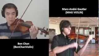 Bach Double For Two Violins (3rd Movement)