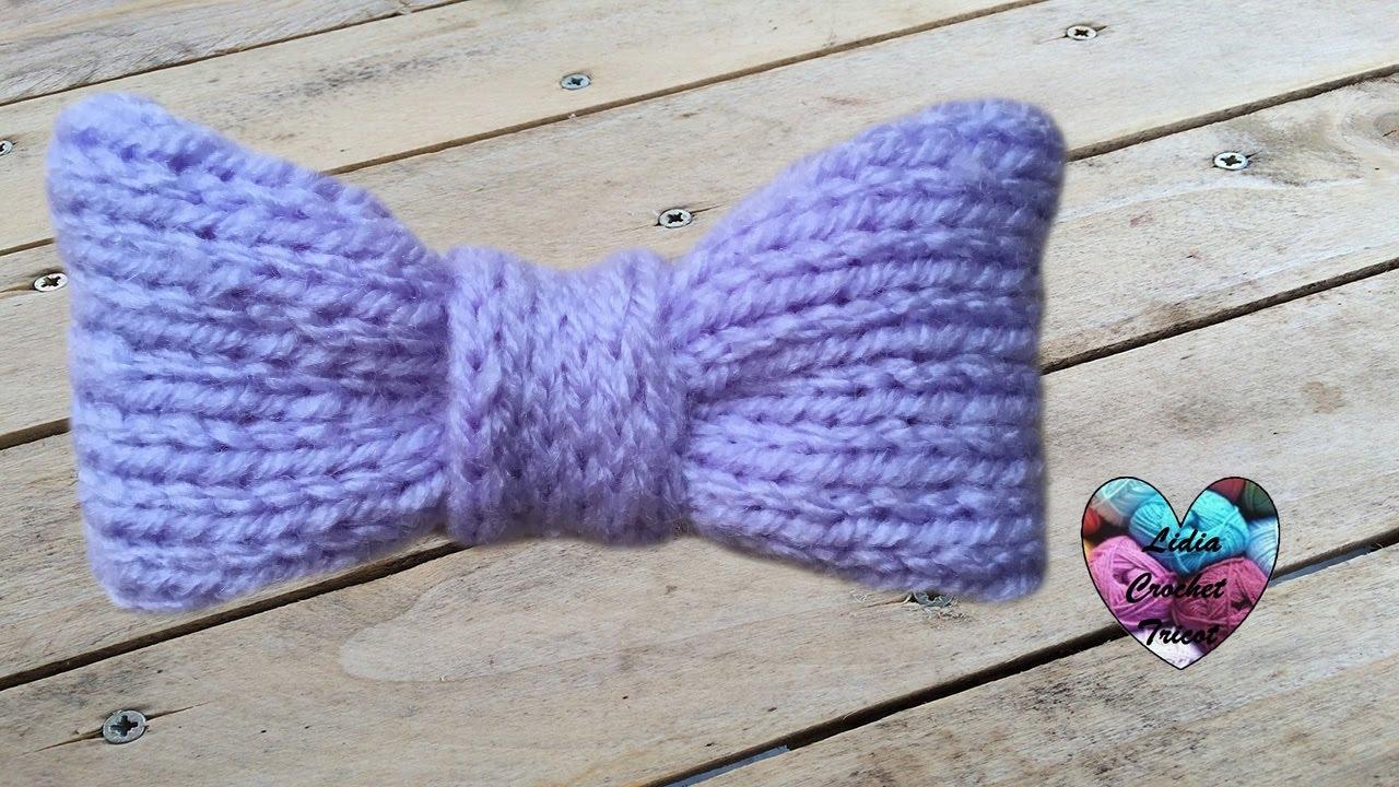 conception populaire nouvelle version magasin meilleurs vendeurs Bow tie knit very easy (english subtitles)