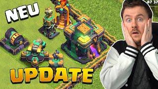 RATHAUS 14 Update Sneak Peek #1 | Neue Gebäude + Truppen Level | Clash of Clans Rathaus 14