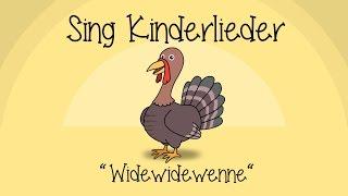 Widewidewenne - Kinderlieder zum Mitsingen | Sing Kinderlieder