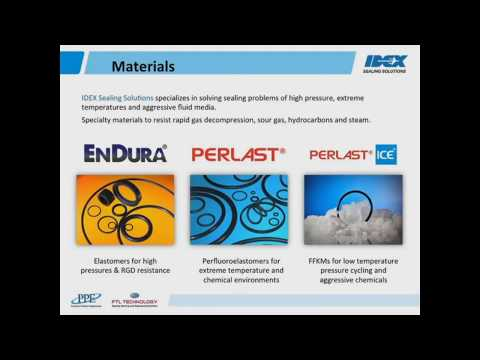 PPE Webinar: Low temperature sealing with elastomers in sour gas - Precision Polymer Engineering