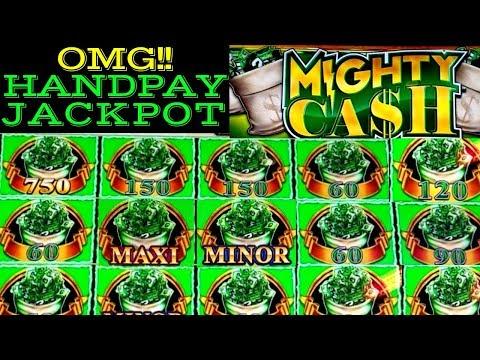 JACKPOT HANDPAY ❗️ High Limit Mighty Cash Slot Machine MASSIVE WIN 🔴PREMIERE #1 | Casino |Live Slot