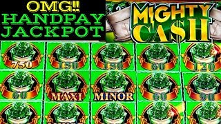 JACKPOT HANDPAY ❗️ High Limit Mighty Cash Slot Machine MASSIVE WIN 🔴PREMIERE #1 | Casino |Live Slot