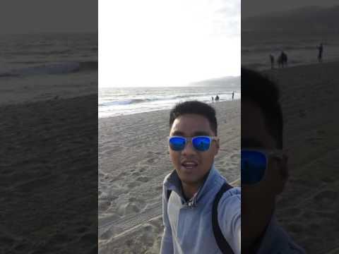 Fun at Santa Monica Beach