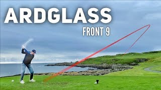 Playing at Ardglass Golf Club in Ireland   Front 9