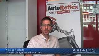 AutoReflex utilise la solution de couplage téléphonie-informatique d'Axialys