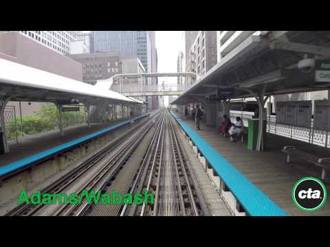 CTA Ride the Rails: Green Line from Harlem to Garfield in Re