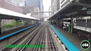 CTA Ride the Rails: Green Line from Harlem to Garfield in Real Time