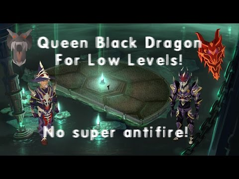 Runescape Detailed low level Queen Black Dragon (QBD) Guide! Legacy/EOC! | Best Kill Speeds!