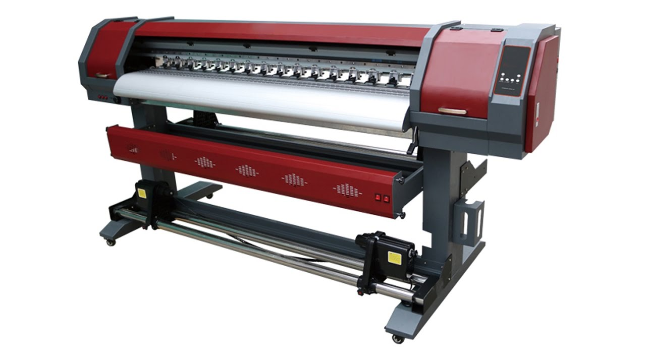 1 6m vinyl printer cutter eco solvent printer cutter sticker cutting and printing machine plotter