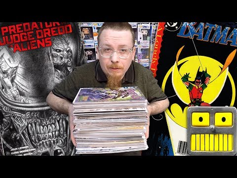A Mystery Comic Book Collection Haul We Can Open Together